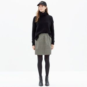 Madewell Jacquard Skirt Full Pocket Skirt